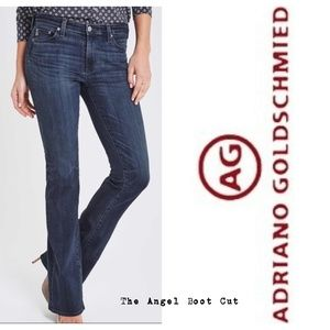 Size 31 Anthro AG The Angel Boot Cut Jeans